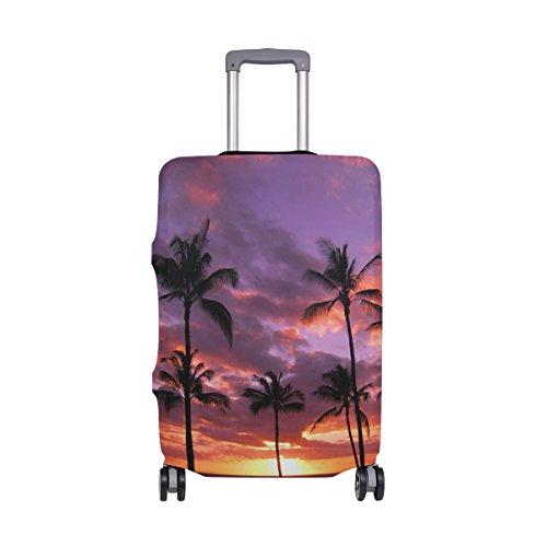 Hawaii Reisegepäck-Abdeckung, dehnbar, Koffer-Schutz, passend für 45,7-50,8 cm Gepäck Mehrfarbig Mehrfarbig 26-28 inches - Koffer Abdeckung Dehnbare