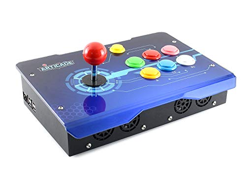 Waveshare Arcade-C-1P is a 1 Player Arcade Console Powered by Raspberry Pi 3B+ Provides Classic Arcade Control Joystick Colorful Buttons Allows User-Defined Thousands of Games Are Available - Button Panel