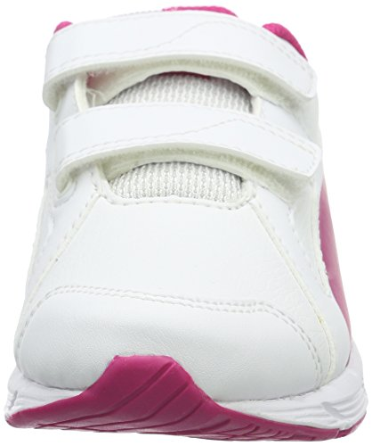Puma Axis v4 SL V PS, Baskets Basses Mixte Enfant Blanc - Weiß (puma White-Beetroot Purple 07)