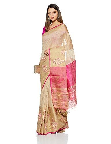 Aalia Art Silk Embroidered Saree with ...
