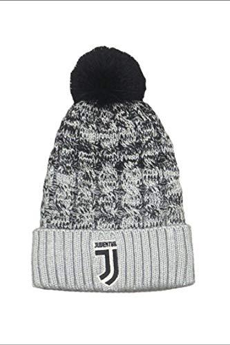 Cuffia juventus juve pon pon ufficiale cappello berretto ponjj01bi
