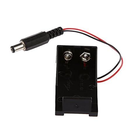 Generic Boîte de Rangement Support de 9v Batterie Porte avec