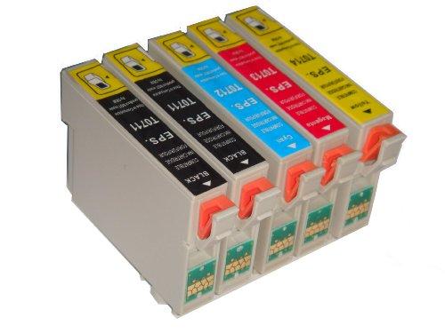 10 x Kompatibel Patronen Epson D78 D92 D120 DX4000 DX4050 DX4400 DX5000 DX5050 DX6000 DX6050 DX7000F...
