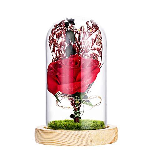 Schön Unechte Blumen, Sonnena 6 Stück Gefälschte Blumen Rosen Seide Kunstblume Bridal Bouquet Hochzeit Blumenstrauß Party Garten Blumen-Bouquet Hortensie Dekoration