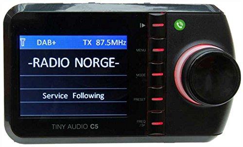 Tiny Audio C5 - FM Transmitter Auto , schwarz Universal-digital-fm-transmitter