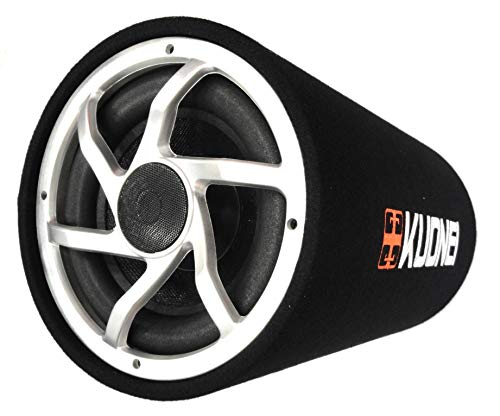 Buy 12″ Subwoofer Bass Tube (with in-Built Amplifier) Bass Booster/Enhancer online in India at discounted price