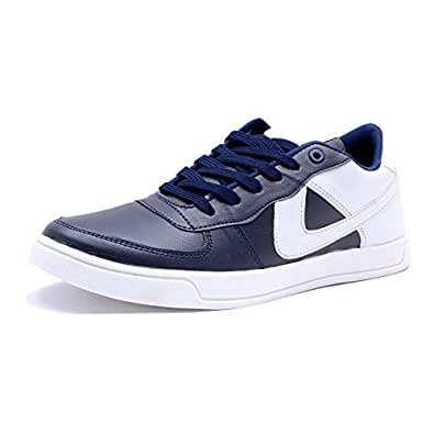 ROADSTAG Sports Canvas Outdoor Running Shoes for Men/Boys Blue UK/India SIZE-10