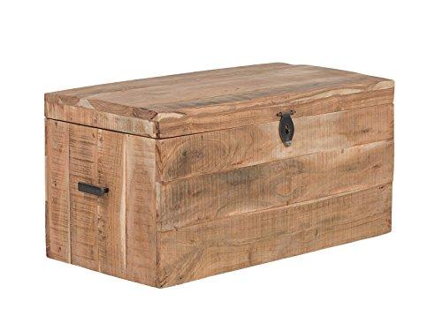 massivum Kentucky Truhe, Holz-Akazie, Natur, BxHxT: 80x40x40 cm