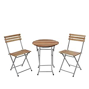 ssitg biergarten garnitur garmisch bistro set garten set tisch st hle ge lt. Black Bedroom Furniture Sets. Home Design Ideas