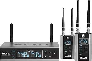 Systèmes sans fil ALTO PROFESSIONAL UHF PRO EMETTEUR + 2 RECEPTEURS Ensembles Recepteurs portables