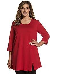 Ulla Popken Femme Grandes tailles Tunique jersey 711436