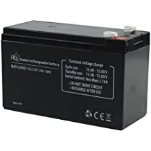 HQ BAT-LEAD-12 batería recargable - Batería/Pila recargable (Universal, Plomo-ácido, Negro, 110 x 160 x 70 mm)