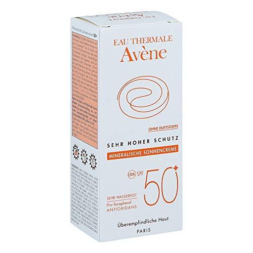 Avene - Crema solare, protezione 50, minerale, 2010,50ml