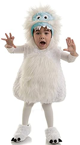 Yeti Kinderkostüm - 74-80cm (Yeti-kostüm Kinder)