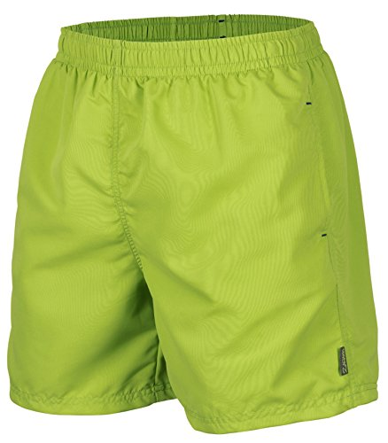 Herren Badeshort, 5013.F green, Gr. S/Badehose/Badeshorts/Beach-Shorts/Bermuda-Shorts/Freizeit-Hose (Blau-grüne Hose)