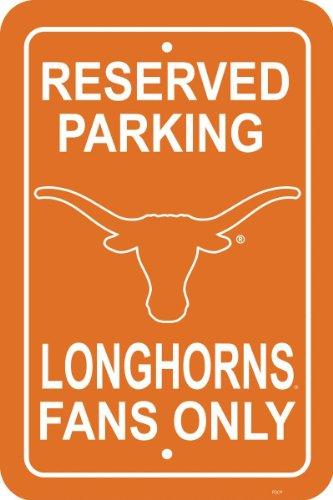 Spinner-applique (Fremont Die NCAA Unisex Straßenschild, Texas Longhorns12 X 18