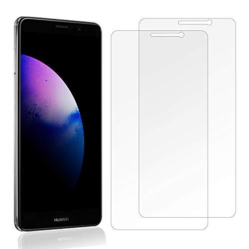 Snnisttek [2 Unidades] Protector de Pantalla Huawei Mate 10, 9H Dureza Cristal Vidrio Templado para Huawei Mate 10, 0.33mm Ultra Transparencia HD, 3D Touch Compatibles, Instalación Fácil