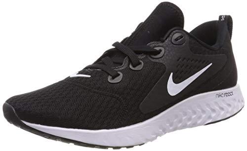 Nike Herren Legend React Sneakers, Schwarz (Black/White 001), 42.5 EU