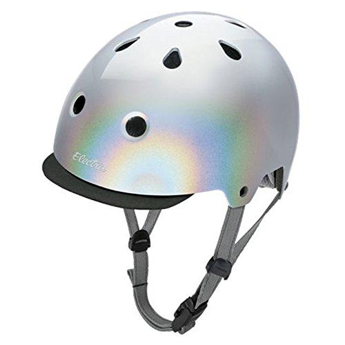 Electra Bike und Skate Helm 'Silver' Solid Color Helmet, Kopfumfang:48-54 cm