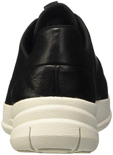 FitFlop Sportlich-Pop Softie Sneakers Schwarz/Anthrazit Schwarz/Anthrazit