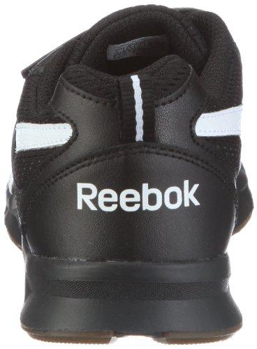Reebok Triple Chase 2V 150295 Unisex - Kinder Sportschuhe Schwarz (black/white/gum 1)