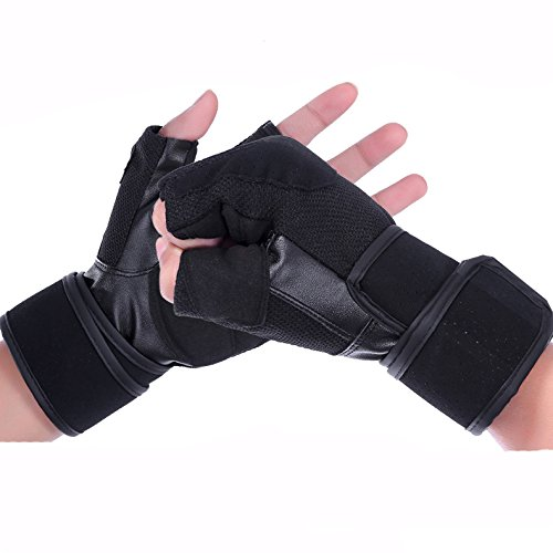 Microfiber Ventilate Leather – Weight Lifting Gloves