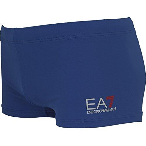 EA7 Emporio Armani Herren Badehose Kastenbadehosen 7P700 Royal Blue 50 (M)