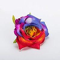 Corona de flores Diadema Floral Hairband Festival Accesorios de la boda Tocado No deformación Rose Flor horquilla