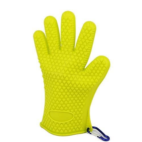 Bigherdez Weiche Silikonfischhandschuhe Skidproof Wasserdichte Outdoor Sports Fische Fanghandschuhe für Männer Frauen Angelgerät