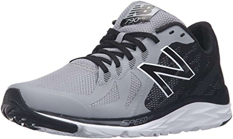 New Balance M790V6 Running Shoe-M - Zapatillas de Running de Sintético Hombre, Color Gris, Talla 45 EU