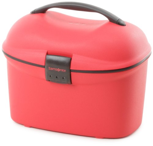 Samsonite Cabin Collection Beauty Case, Vanity - Red flashy
