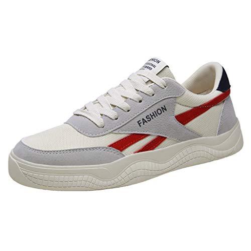 LILIHOT Neue Herrenschuhe Mesh Schuhe Freizeit Sportschuhe Sind Im Sommer Schuh Atmungsaktiv Laufschuhe Gym Turnschuhe Freizeitschuhe Running Sneaker Mesh Outdoor Shoes
