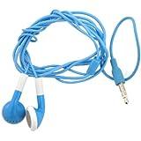 Bleu fluo Écouteurs intra-auriculaires pour Iphone/Ipod/Ipad compatible