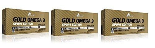 Olimp Gold Omega 3 Sport Edition 3x120 Kapseln, 3er Pack