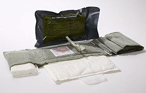Bandage israélien tactique T3 pour le traitement des traumatismes - 10,2cm