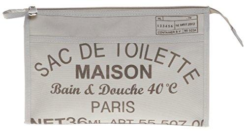 Boutique Beauté 90 Trousse de Toilette en Polyester Beige