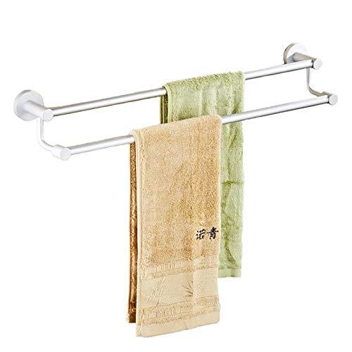 ALisu Toallero baño adhesivo No requiere perforación Espacio aluminio @ varilla individual 40 cm.