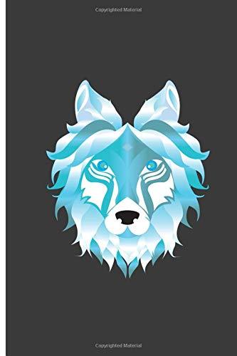 best website a9a80 bdc14 Wolf  Cool Wolf Perfect Dot Grid Notebook Journal ...