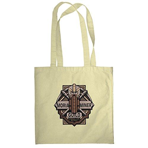 TEXLAB - Moria Miner Guild - Stoffbeutel, natur