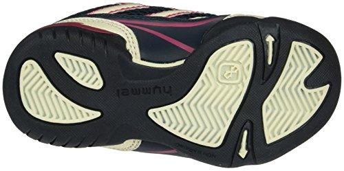 Hummel Root Velcro Jr, Scarpe Sportive Indoor Unisex – Bambini Blu (Total Eclipse)
