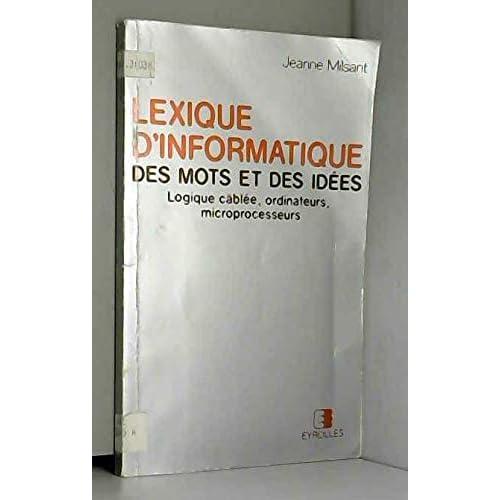Lexique d'informatique des mots et des idées : Avec index alphabétique anglais-français