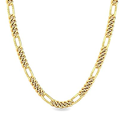 Candere By Kalyan Jewellers Contemporary Collection 22k Yellow Gold Sebestian Chain Necklace for Men