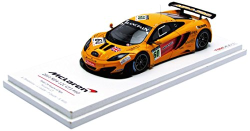 Truescale Miniatures - Tsm124375 - MC-Laren Mp4-12c Gt3 - 24h De Spa 2011 - Echelle 1/43