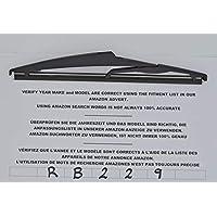 Exact Fit RB229 - Limpiaparabrisas trasero (24 cm)