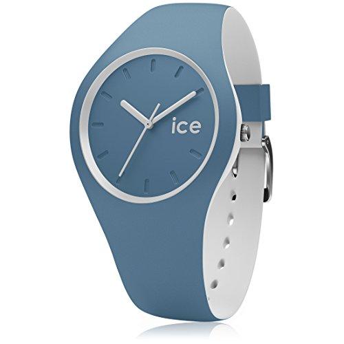 Ice-Watch - ICE duo Bluestone - Montre bleue mixte avec bracelet en silicone - 001496 (Medium)