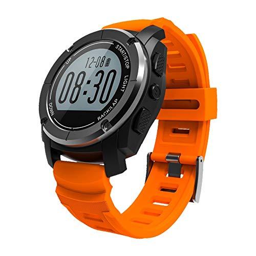 GPS Montre de Sport MOREFINE Bluetooth Fitness Tracker d'Activités (Course Cyclisme Marche...