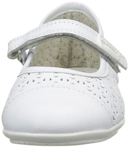 Garvalín 162600, Ballerines fille blanc (BLANCO (SAUVAGE))