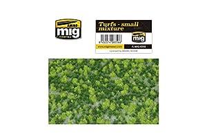 AMMO MIG-8356 Turfs - Alfombrillas de césped para Mezcla, Multicolor