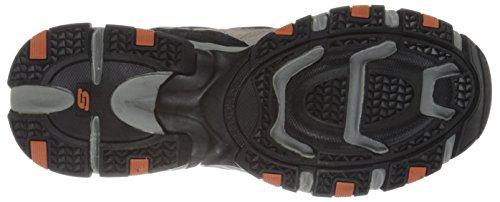 Skechers Sport Mens Vigor 2.0 Trait Memory Foam Sneaker, Taupe/Black, 10 M US Taupe / Black