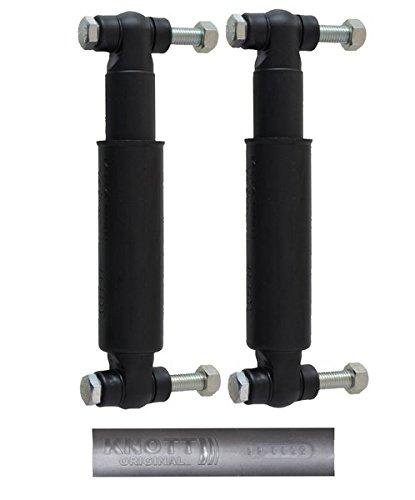 2 x Knott 990022 Achsstoßdämpfer mit Schraubenmaterial - Anhänger Stossdämpfer